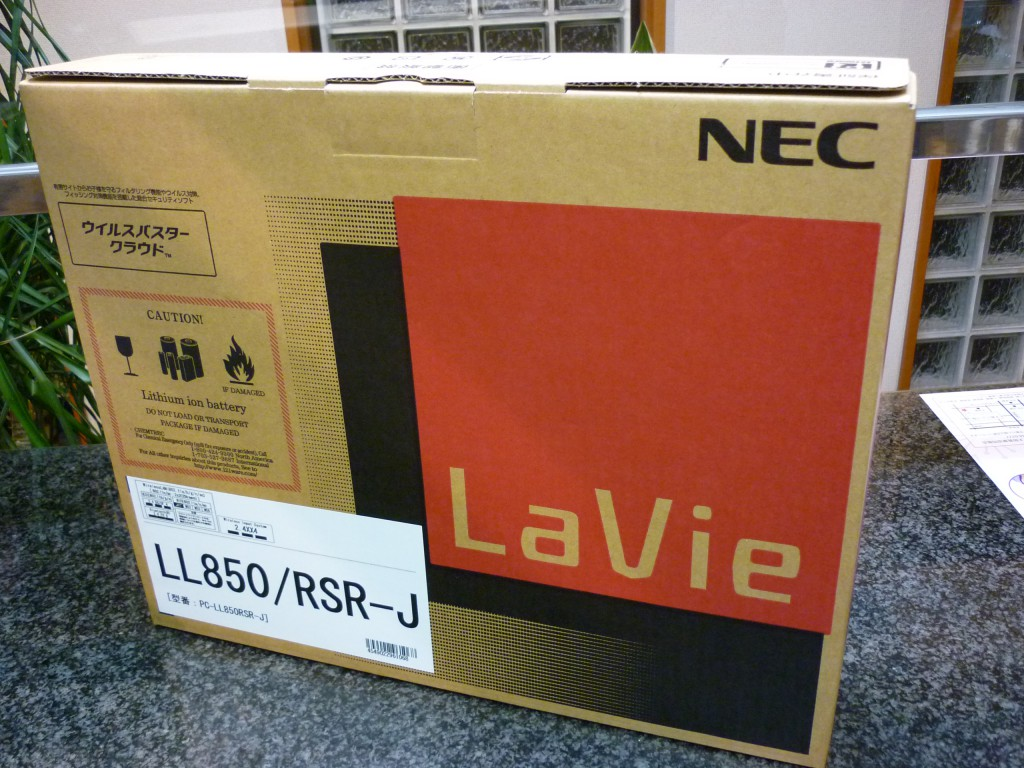NECLaVieLL850/RSR-J