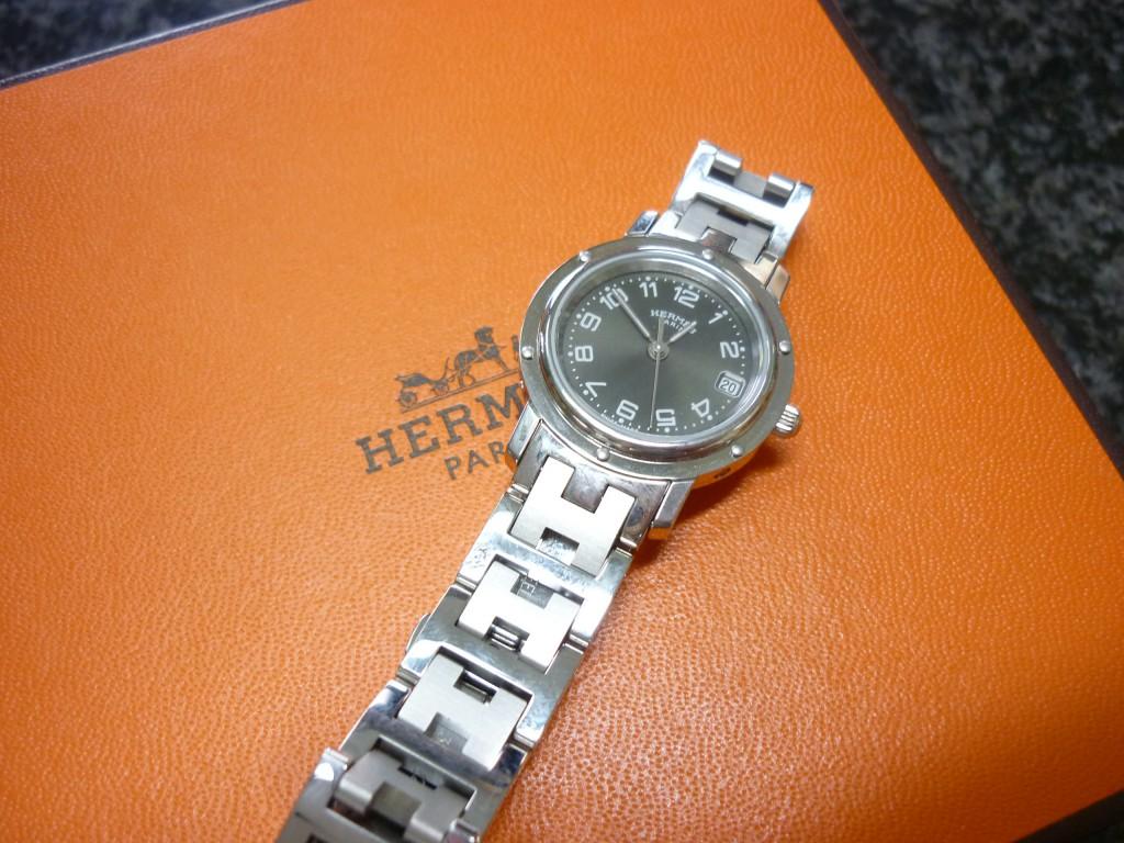 エルメスクリッパーレディース腕時計
