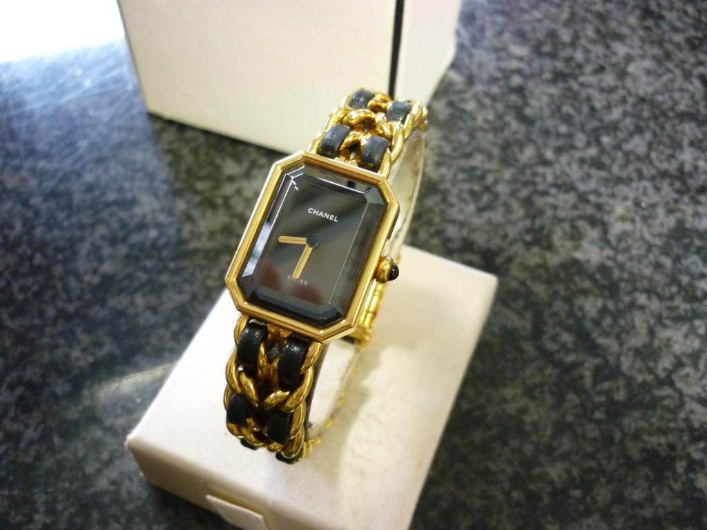 シャネルマトラッセ腕時計