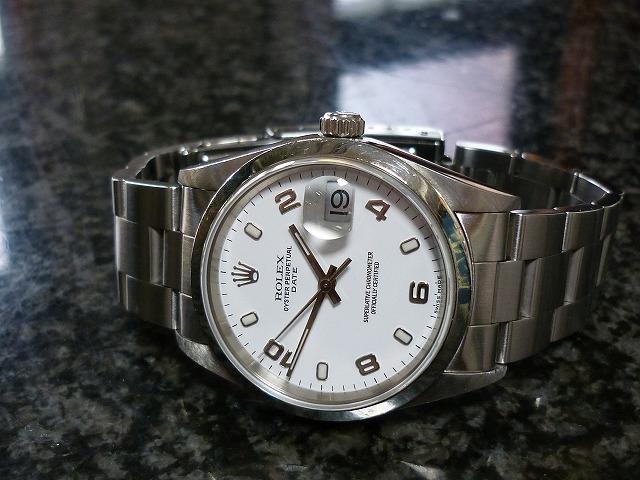 ロレックス115200腕時計買取大阪寝屋川質屋まるぜん