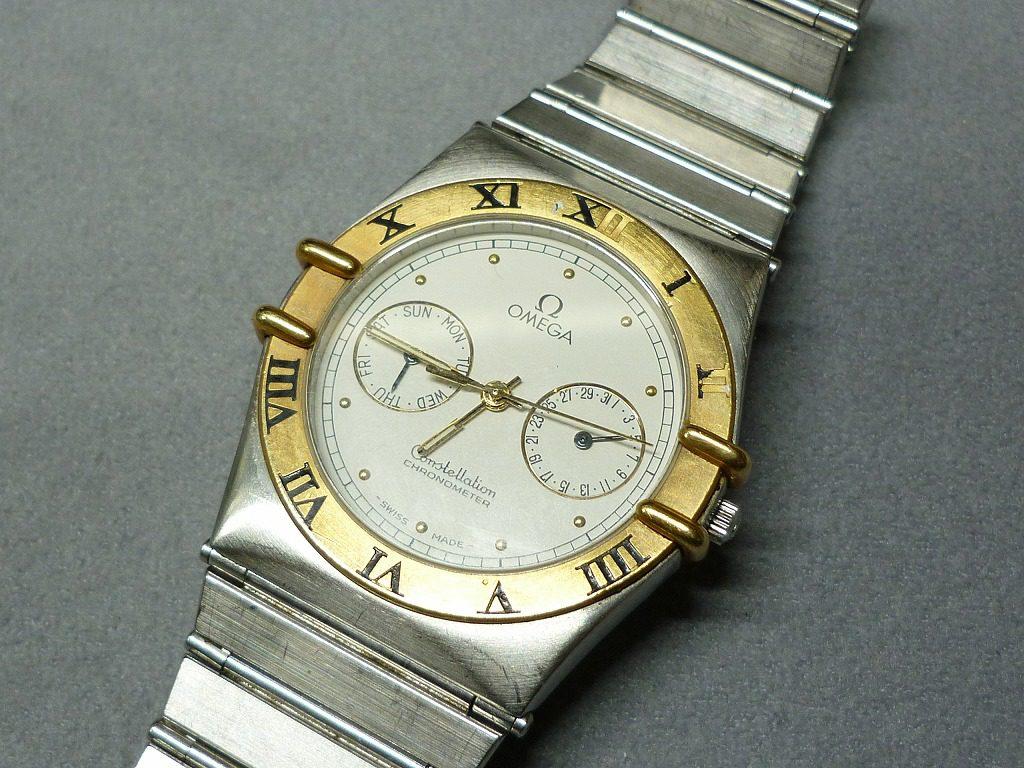 オメガコンステレーション腕時計買取大阪寝屋川質屋まるぜん
