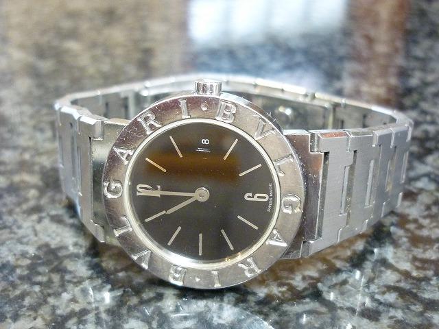 ブルガリ腕時計BB26買取大阪寝屋川質屋まるぜん